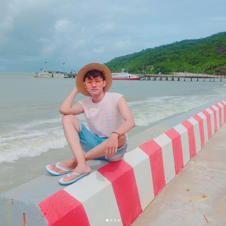Bến tàu trở thành 1 trong những địa điểm chụp hình ưa thích ở Hòn Sơn - dhpreal